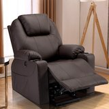 Power Reclining Massage Chair by Red Barrel Studio®