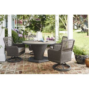 Dogwood 5 Piece Sunbrella Dining Set with Cushions