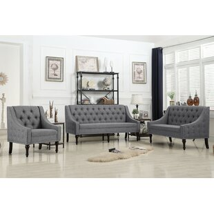 Hunley 3 Piece Living Room Set..