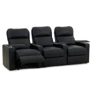 Latitude Run Sleek Home Theater Seating (Row of 3)
