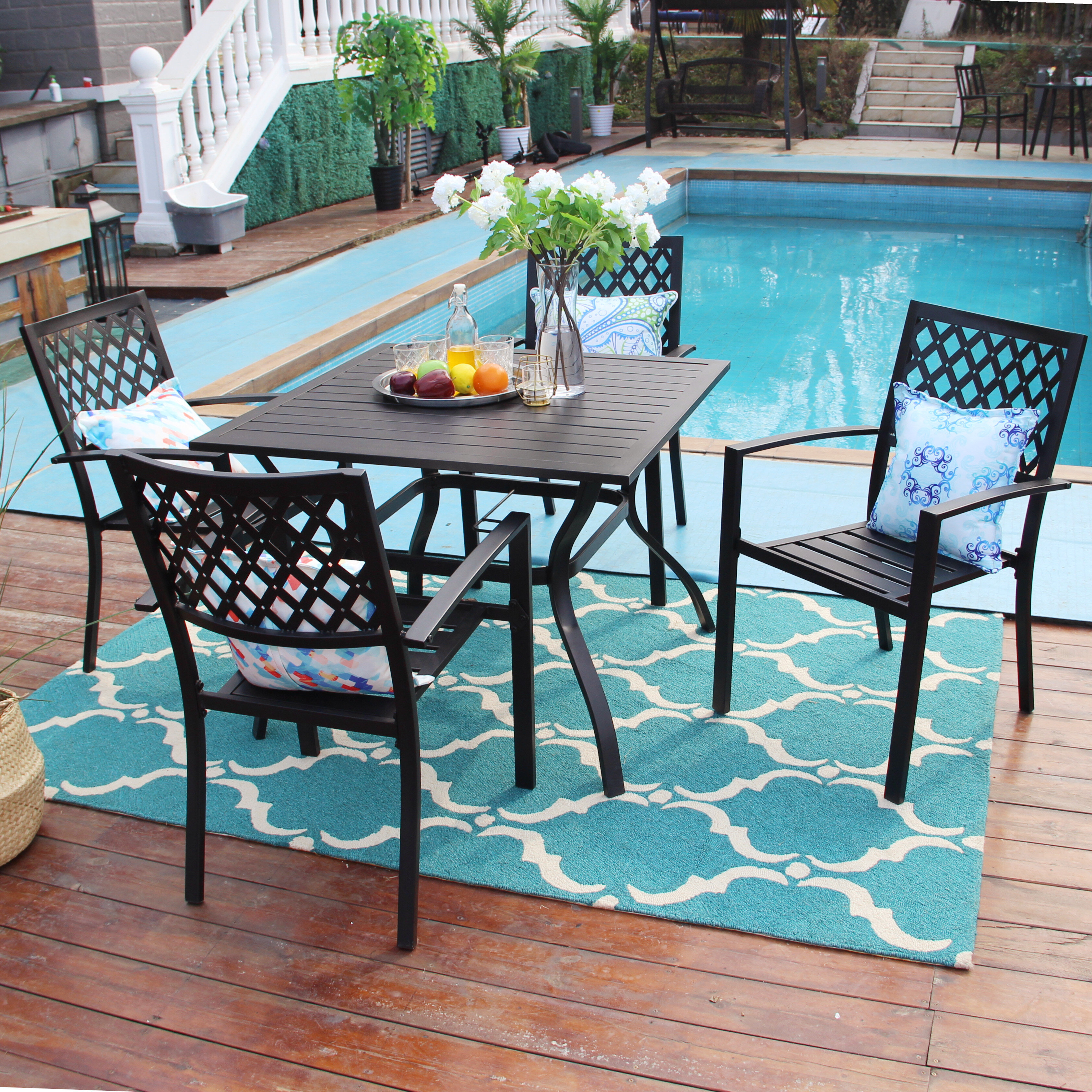 Charlton Home Patio Dining Sets You Ll Love In 2021 Wayfair