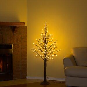 Lighted Weeping Willow Tree Wayfair - Wispy Willow Christmas Tree