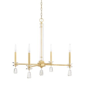 Newsoms 4-Light Crystal Chandelier