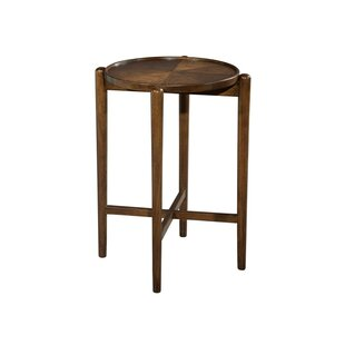 Syrna Mid Century Modern End Table by Astoria Grand