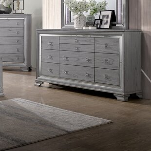 Read Reviews Orrwell 10 Drawer Dresser by Everly Quinn