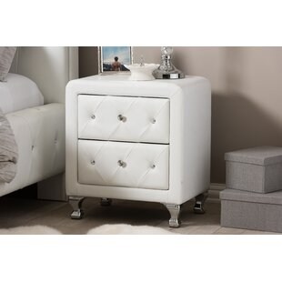 Stella 2 Drawer Nightstand