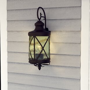 Darby Home Co Forestburgh 2-Light Outdoor Wall Lantern