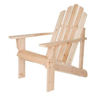 Shine Company Inc. Marina Wood Adirondack Chair