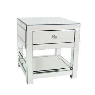 Nicolle End Table With Storage