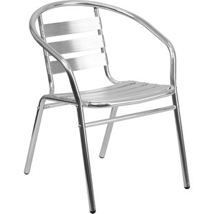 Zeke Slat Back Indoor Outdoor Dining Chair