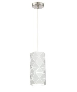 Ivy Bronx Breit Metal Shade 1-Light Cylinder Pendant
