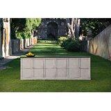 Moncure 112 Wide Pine Wood Sideboard by Gracie Oaks