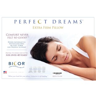 Bicor Perfect Dreams Polyfill Standard Pillow