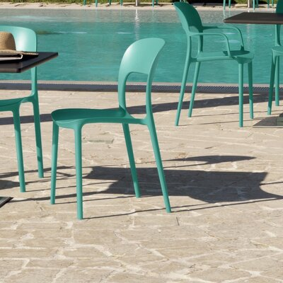 Bontempi Casa Gipsy Dining Chair Color: Turquoise