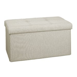 Tindall Double Folding Storage Ottoman by Andover Mills
