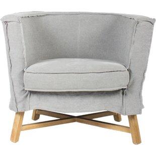 Mia Barrel Chair by Gracie Oaks