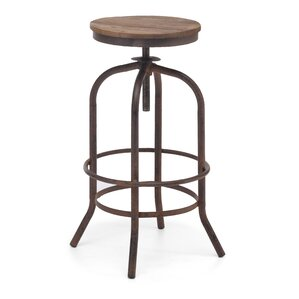 Howe Adjustable Height Swivel Bar Stool by Trent Austin Design