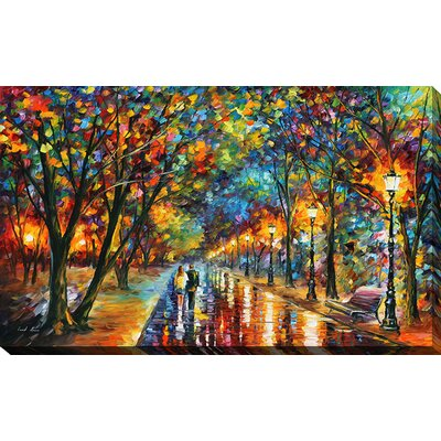 Reproduction dart sur toile tendue when the dreams come true par leonid afremov
