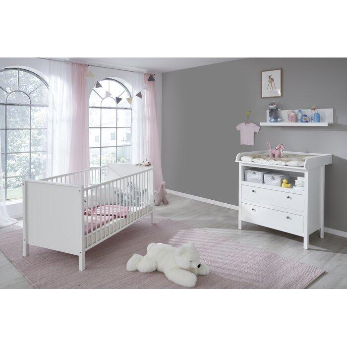 Jalynn 3 Piece Nursery Furniture Set