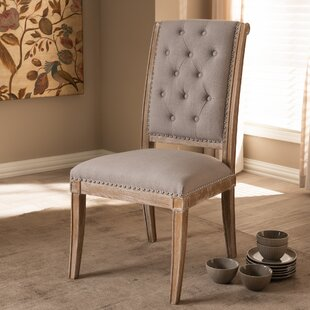 Chevington Upholstered Dining Chair Ophelia & Co.
