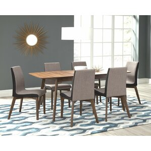 Frederik II 7 Piece Dining Set by Infini ..