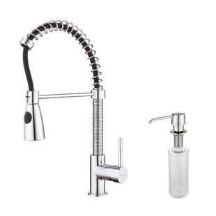 Kraus Kichen Faucet Combos Single Handle Kitchen Faucet
