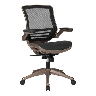 Innes Mid-Back Transparent Mesh Executive Chair