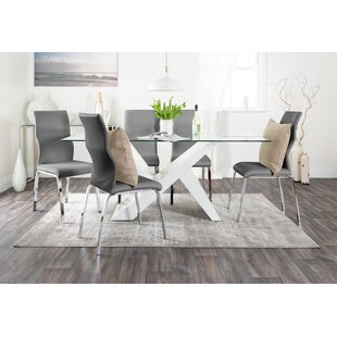 Alisha Dining Set With 6 Chairs By Wade Logan