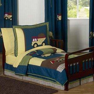 Construction Zone 5 Piece Toddler Bedding Set