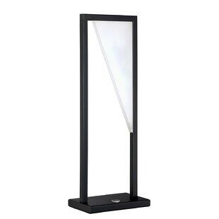 Shear Black LED Table Lamp