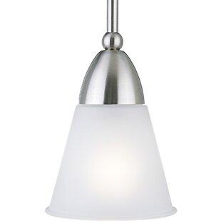 Bordelon 1-Light Cone Pendant by Winston Porter