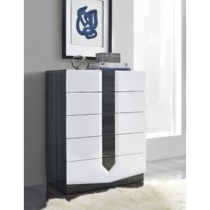 Hudson 5 Drawer Chest by Global Furniture USA