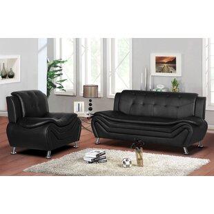 Gilligan 2 Piece Living Room Set by Orren Ellis