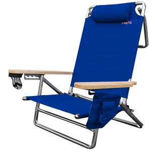 Freeport Park Jaycee Deluxe Folding Beach Chair
