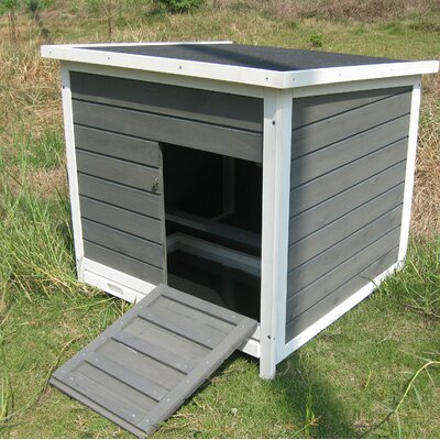 Coops & Feathers Nesting Roosting Box Chicken Coop With Metal Tray Coops & Feathers