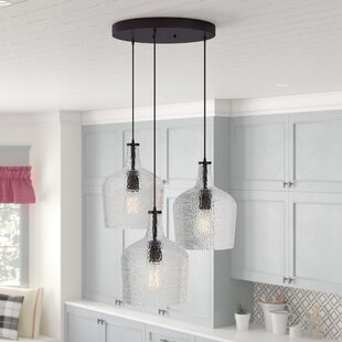 Kiefer 3-Light Cluster Pendant by Andover Mills