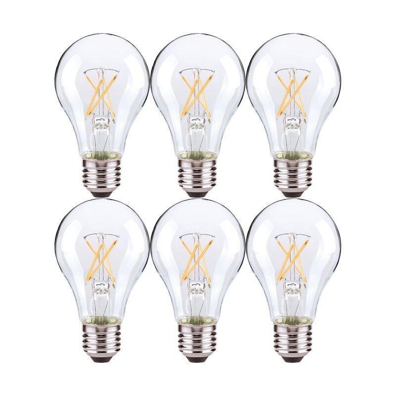 Nuvo Lighting 5 Watt (40 Watt Equivalent) A19 LED Dimmable ...