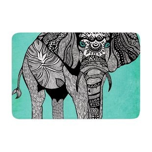 Elephant of Namibia by Pom Graphic Design Bath Mat ByEast Urban Home