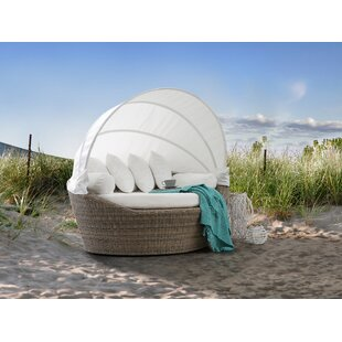 Blakeney Patio Daybed with Cushion by Brayden Studio