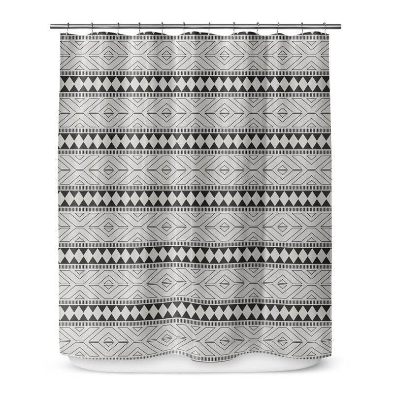 Wade Logan Barbosa Single Shower Curtain Wayfair