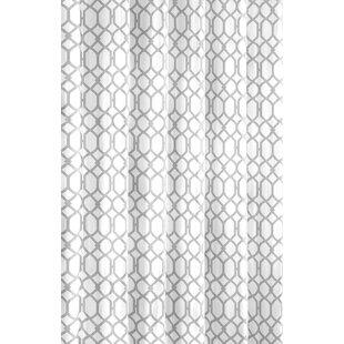 Shoreline Trellis Cotton Single Shower Curtain by Tommy Bahama Home