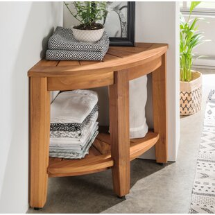 Arkansas 40 X 42cm Bathroom Shelf By Natur Pur