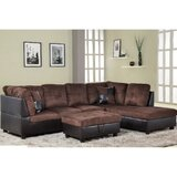 Alantis 103.5 Corner Sectional with Ottoman by Ebern Designs