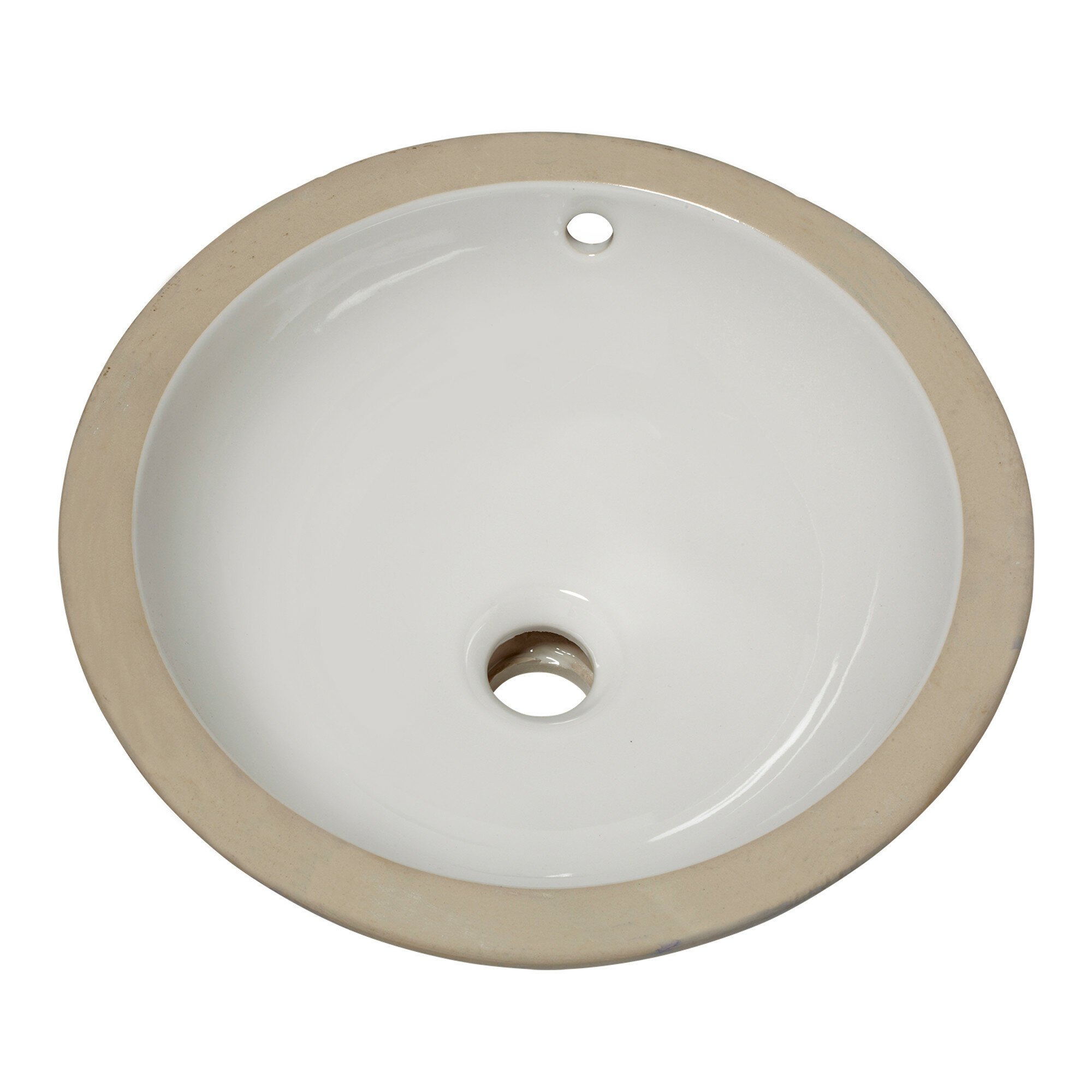 American Standard Orbit Ceramic Circular Undermount Bathroom Sink With Overflow Reviews Wayfair