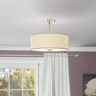 Willa Arlo Interiors Fayme 3-Light Semi-Flush Mount