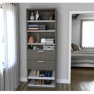 Online Reviews Wilbur 29.5 W Closet System By Rebrilliant