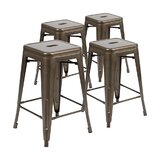 Pierpont Counter Stool (Set of 4) by Wrought Studio™