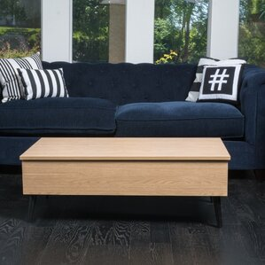 Bisson Coffee Table with Lift Top by Ivy Bronx