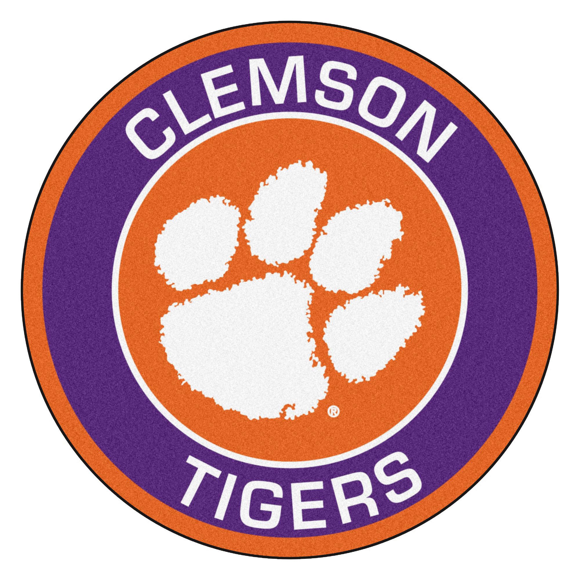 Fanmats Clemson Tigers Football Field Runner