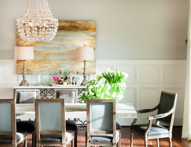dining room table with bench against wall. Elegant Dining Room Foolproof Dining Room Layout Tips  Wayfair